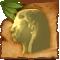Estatua de madera de Mowgli