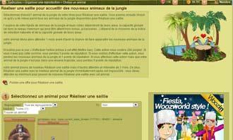Tropicstory - Comprar un animal en una subasta y otras interacciones